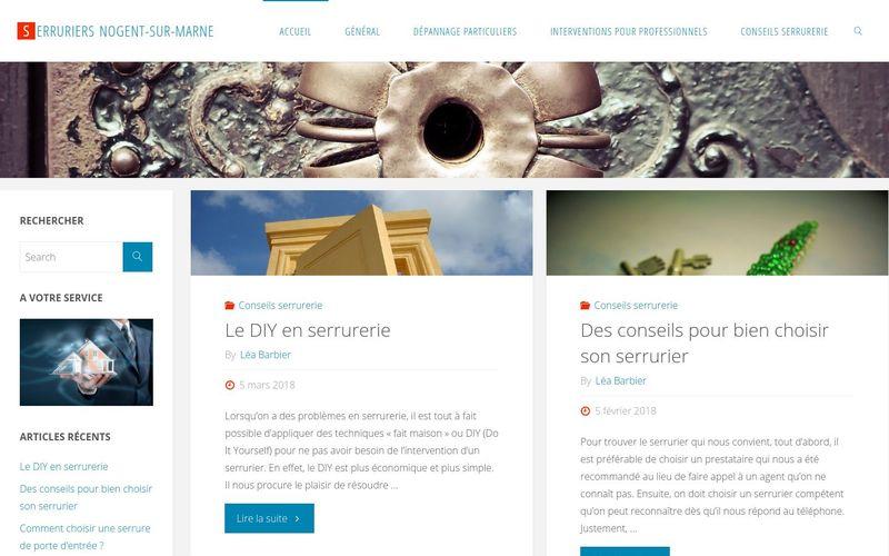 Serruriers Nogent-sur-Marne - Leurs compétences à votre service