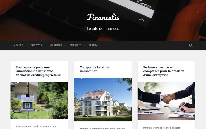 Financetis - Le site de finances