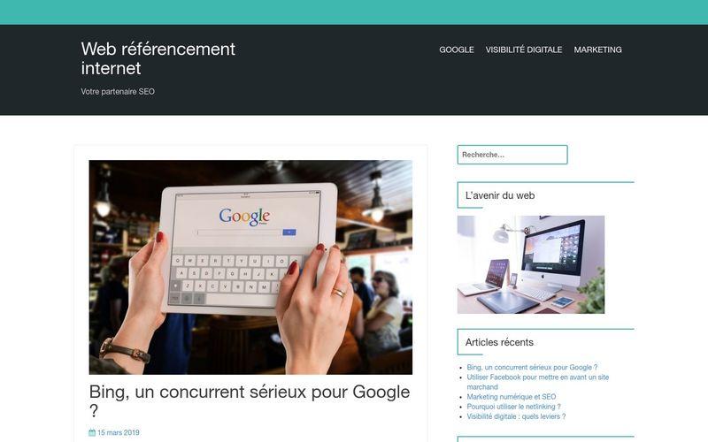 Web référencement internet - Votre partenaire SEO